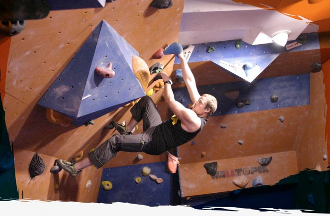 Regular climbers at the Wall