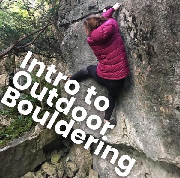 intro to outdoor bouldering